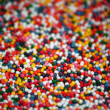 Stock Photo: Food decoration colorful sugar pearls - soft focus