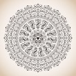 Vintage lace ornament — Stock Vector #21730257