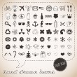 Stock Vector: Hand drawn icons set for You