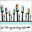Be my guiding light - card — Stock Vector #21968451