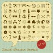 Hand drawn icons set for You - Stock Vector