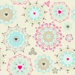 Lovely seamless pattern  — Stock Vector #21969111