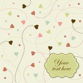 Romantic background — Stock Vector