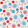 Royalty-Free Stock Vector Image: Patriotic stars and stripes