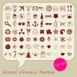 Royalty-Free Stock Векторное изображение: Hand drawn icons set for You