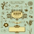 Royalty-Free Stock 矢量图片: Vector set in vintage style