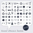 Hand drawn icons set — Stok Vektör #21972895