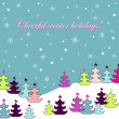 Royalty-Free Stock Векторное изображение: Holiday card