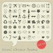 Royalty-Free Stock Vector Image: Hand drawn icons set