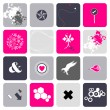 Set of abstract symbols — Stock Vector #21975865