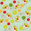 Royalty-Free Stock Vector Image: Seamless Christmas pattern