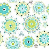 Lovely seamless pattern — Stock Vector