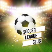 Football poster — Vettoriale Stock
