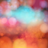Blurry bokeh effect — Stockvector
