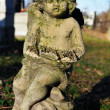 Figurine cherub — Stock Photo