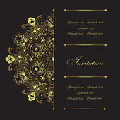 Invitation card — Vector de stock