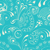 Paisley seamless pattern — Vector de stock