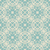 Seamless vintage wallpaper pattern — Stockvektor