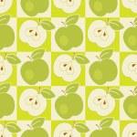 Seamless apple pattern — Stock Photo #31150771