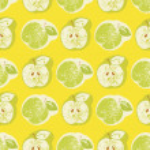 Seamless apple pattern — Stock Photo #31151883
