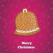 Kartkę z życzeniami wesołych świąt — Zdjęcie stockowe