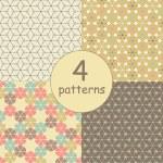 Geometric seamless pattern — Stock Photo