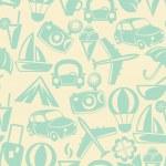 Traveling seamless pattern — Stock Photo