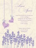 Svatební pozvánky — Stock fotografie