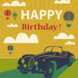 Happy birthday card — Stock Photo #51686981