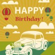 Happy birthday card — Stock Photo #51687077