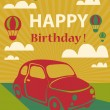 Happy birthday card — Stock Photo #51687213