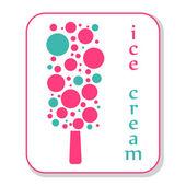 Icono de helado — Foto de Stock