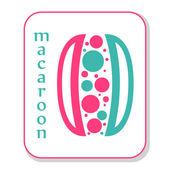 Macaroon icon. — 图库照片