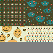 Halloween seamless pattern — Stock Photo