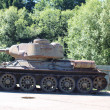 Stock Photo: Old Russian T34 tank