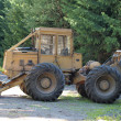 Stock Photo: Forestry tractor LKT81 turbo