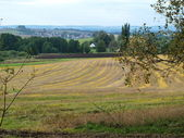 Herfst landschap, zuid-bohemen — Stockfoto