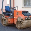 Stock Photo: Small road roller , southern Bohemia