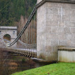 Stock Photo: Unique historical empire Chain Bridge , south Bohemia