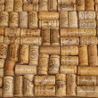 A collection of corks from wine bottles — Stock Photo