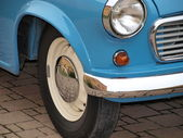 Part of the historic car — Stock Photo