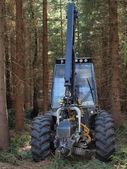 Machine logging, South Bohemia — Stock Photo