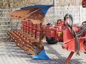 Tillage machine - plow — Stock Photo