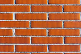 Background of wall with bricks — Stock Photo