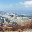 Panorama of Aramotz mountain range. Basque Country — Stock Photo