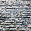Floor tiles of granite paving stones — Stock Photo