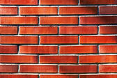 Wall with red bricks — Stock Photo