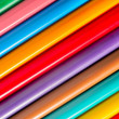 Colorful pens with vivid colors — Stock Photo