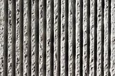 Lines of concrete textures on wall — Stock Photo
