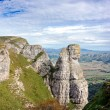 Стоковое фото: Geological formation named fraile peak